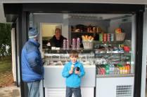 Stewart Tower Ice-cream enjoyed at Hazlehead Park Kiosk